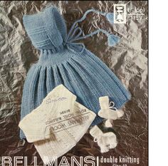 Baby Knitting PATTERN - Hooded Cape and Coat for Baby - 18 inch chest