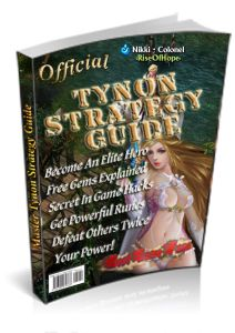 Tynon Strategy Guide brought to you by BestGameFaqs.com and Dot Com Game offers:  - Discover the elite hero skills that are used in the Ty...
