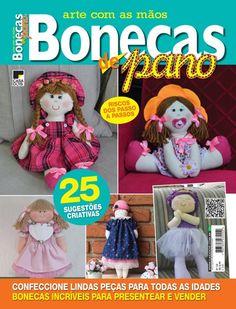 Arte com as Mãos Bonecas de Pano 54 - Bonecas de Pano & Feltro - Artesanato :: Casa Dois