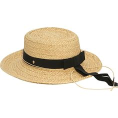 #FashionAccessories, #Hats, #HelenKaminski - Helen Kaminski Keka Natural/Midnight - Helen Kaminski Hats