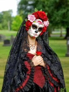 Maquillaje Dia de la Muerte