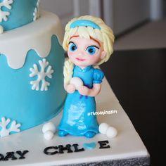 Childhood Elsa Cake Topper Figurine | por TheCakingGirl.ca