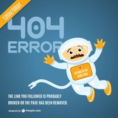 Astronaut 404 page vector Page Design, Web Design, Photoshop Shapes, 404 Pages, Error Page, Vector Free Download, Advertising Design, Free Photos, Funny