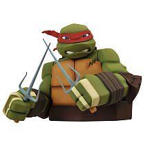 Teenage Mutant Ninja Turtles: Raphael Bust Bank