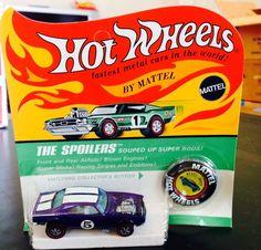 Purple Heavy Chevy Redline Hot Wheel Mint In Package Mattel #HotWheels #Chevrolet