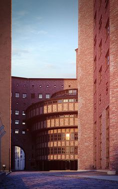 Converted Power Station in Berlin    Full 3D, modelled in 3ds Max 2012 and rendered in Vray 2.1