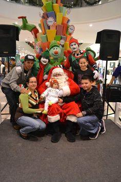 Santa en Multicentro Desamparados 2011