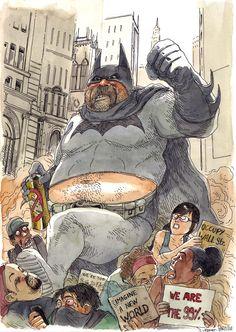 Batman by Boulet