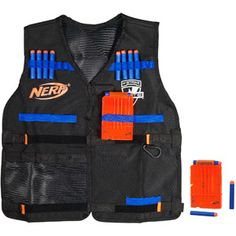 Nerf N-Strike Elite Tactical Vest Kit ((Isaac♥... he has a million and one freakin' Nerf things... this would come in handy!))