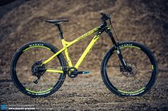 There is no disguising the Commencal Meta HT's intent, it's a wild bike for wild times.
