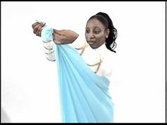 Rejoice Dance Ministry - How to Wrap  Liturgical Wrap