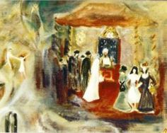 """Jewish Wedding"" ~ Margareta Sterian"