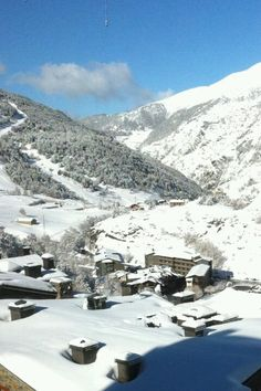 Andorra-- a nice country next to spain.. next winter i definitely have to go back there to learn skiing!