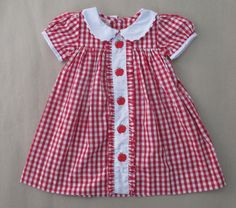 Fantastic 15 Sewing tips are offered on our website. Toddler Dress, Toddler Outfits, Kids Outfits, Baby Dress Design, Girl Dress Patterns, Check Dress, Dresses Kids Girl, Gingham Dress, Baby Kind