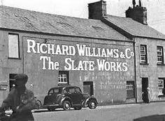 Richard Williams Slate Works, Porthmadog, Wales. The world came to north Wales for slate and it left from Porthmadog.