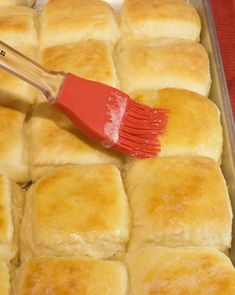 These feather-like Angel Rolls are beyond tender and flaky thanks to using yeast. They are easy and the dough can be refrigerated for up to a week. Bread Recipes, Snack Recipes, Cooking Recipes, Easter Recipes, Cake Recipes, Angel Biscuits, Angel Flake Biscuits Recipe, Angel Rolls Recipe, Low Cal