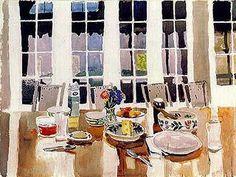 Fairfield Porter (1907-1975),Still Life, 1975.  watercolor, 57 x 77 cm