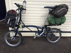 A few good folk on here have mentioned touring on a Brompton. I think Brompton does a and version as. Foldable Bicycle, Folding Bicycle, Velo Brompton, Bike Friday, Urban Bike, Travel Around Europe, Cycle Chic, Touring Bike, Bike Life