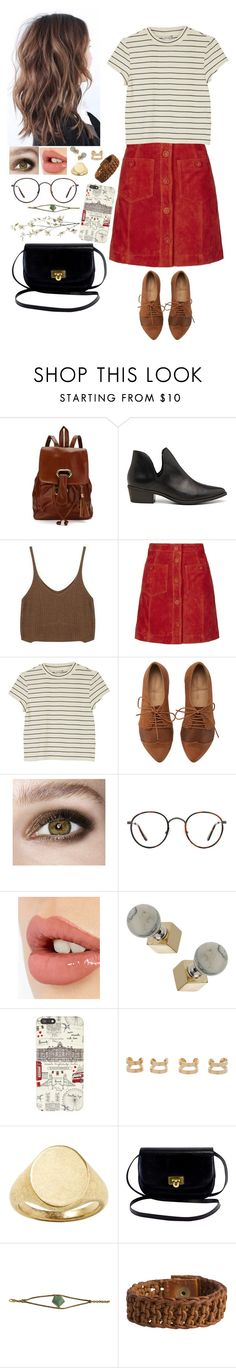 """Untitled #528"" by howdousayniam ❤ liked on Polyvore featuring Steve Madden, Topshop, Monki, Kensington Road, Charlotte Tilbury, Harrods, Maison Margiela, Banana Republic, Seawolf and Pieces"