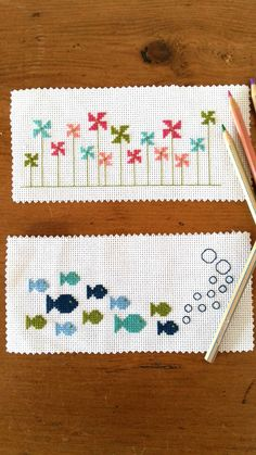 123 Cross Stitch, Cross Stitch Beginner, Easy Cross Stitch Patterns, Cross Stitch For Kids, Cross Stitch Bookmarks, Cross Stitch Borders, Simple Cross Stitch, Cross Stitch Designs, Cross Stitching