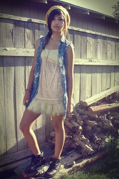 girly meets #grunge #fashion flipping love this!!!