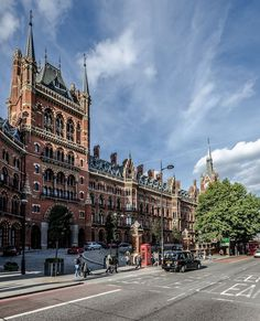 St. Pancras railway station, London