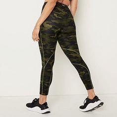 Camo Leggings, Victoria's Secret Pink, Color Patterns, Squats, Fitness, Green, Fabric, Pants, Clothes