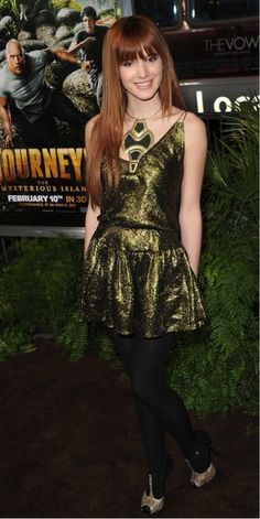 Bella Thorne Journey 2 Premiere. love her outfit!!