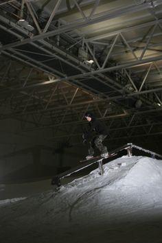 Jamie Nichols, photographed @Snow Factor by Andrew Binnie.