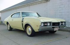 1968 Olds 442, 400 4Bbl Rocket V8/TH400(6disc) auto/3.42 Anti-Spin Axle