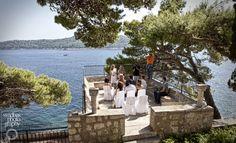 A smaller wedding in Dubrovnik, wedding ceremony at Grand Villa Argentina, 2012
