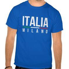 Italia Milano T-Shirt.  #Mialn #tshirts #italy