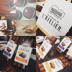 Découverte des Chocolats Ganache et comment réaliser une ganache #nestle #lesrecettesdelatelier #ganache #tablette #chocolat #instachocolate #event #blogger