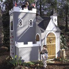 Lilliput Sassafras Castle Children's Playhouses