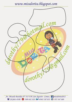 Miss Dorita: Abecedario Grande 3 Alphabet Templates, Felt Templates, Felt Name Banner, Name Banners, Bubble Letters, Book Letters, Alphabet And Numbers, Foam Crafts, Lettering Design