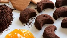 Moon Shaped Cookies (no bake) / كوكيز على شكل القمر - CookingWithAlia - Episode 404