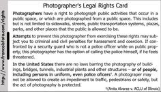 Rights of a Photographer