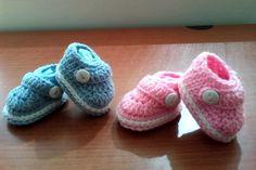 Crochet Baby Booties Boy Or Girl