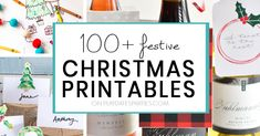 Free Christmas Printables   Over 100 Festive Ideas for Kids and Families Free Christmas Printables, Party Printables, Got Game, Coloring Sheets, Happy Holidays, Gift Tags, Festive, Families, Templates