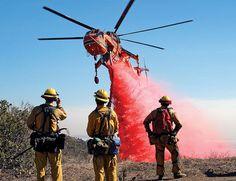 A closer look at the Erickson Air-Crane, the heavy-hauler helo. Fire Dept, Fire Department, Erickson Air Crane, Stunt Plane, Wildland Firefighter, Air Fire, Fire Equipment, Aviation Industry, Water