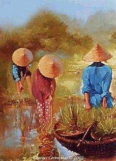 Serie Asie - Georges Corominas