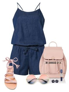 """""""Summer Ready!!!"""" by cynive ❤ liked on Polyvore featuring Dorothy Perkins, Ancient Greek Sandals, Accessorize, ZeroUV and Marc Jacobs"""