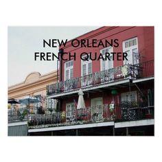 New Orleans French Quarter Print