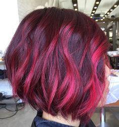 Lipstick Pink Color Highlights