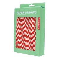 Retro paper straws (biodegradable)
