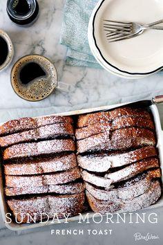 Sunday Morning French Toast via @PureWow