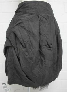 "www.modegalerie-bongardt.de - rundholz mode, rundholz black label, rundholz dip Rundholz black label Winter 2014, asym. Ballonrock ""wattiert""...in 3 verschiedenen Farben ! 750304/W14"