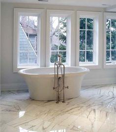 ** Marmi Iris statuario porcelain floor tile