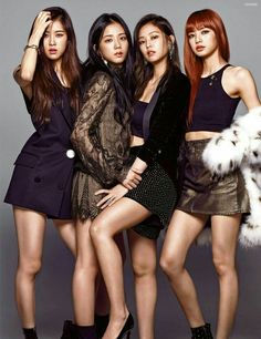 Black Pink Yes Please – BlackPink, the greatest Kpop girl group ever! Kim Jennie, Blackpink Fashion, Korean Fashion, Kpop Girl Groups, Kpop Girls, Gq Mens Style, Blackpink Poster, Blackpink Members, Black Pink Kpop