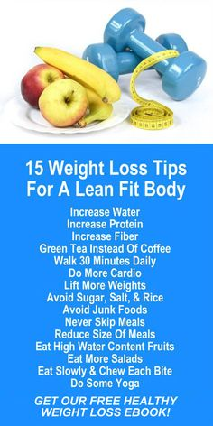 15 Weight Loss Tips For A Lean Fit Body. Our incredible alkaline rich, antioxidant loaded, weight loss products help you burn fat and lose weight more efficiently without changing your diet, increasing your exercise, or altering your lifestyle. LEARN MORE #FatBurning #WeightLoss #Tips #Tricks #Secrets